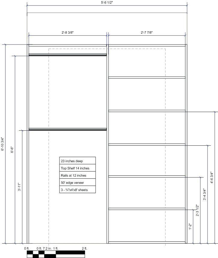 Standard Closet Shelf Height Stylish Fine