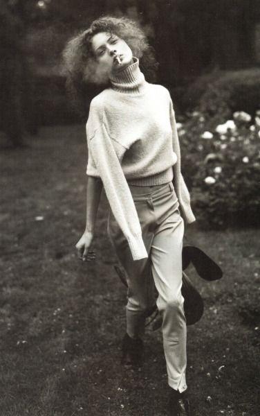 Зимние Мелодии Шалом Харлоу Стивена Мейзела для Vogue Italia в августе 1993 года
