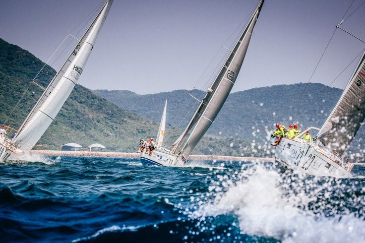 The 2017 8th Round Hainan Regatta will be held from March 17th to 25th in the seas around Hainan Island!