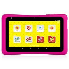 Barbie nabi 7 Inch HD Tablet. Be Anything With Barbie?! Be a designer of your own Barbie? fashions, be a creator of your own superhero Barbie? comic strips, or be anything you want with dozens of pre-loaded Barbie? apps, games and videos. The Barbie? Tablet comes with a custom Barbie? pink bumper, special sound effects and Barbie? wallpapers for a totally immersive Barbie? tablet experience! Powered by nabi®, this full-featured Android? tablet comes with Google Play? and over 400 features...