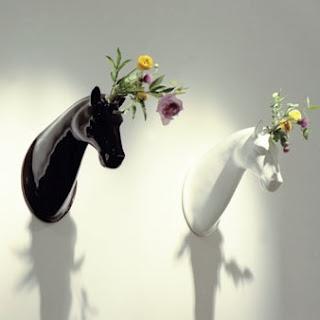 ..: Hors Head, Jaime Hayon, Wall Vase, Hors Vase, Flowers Pots, Horses Vase, Cute Ideas, Head Vase, Flowers Vase