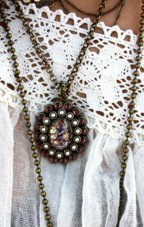 love #bohemian #necklace