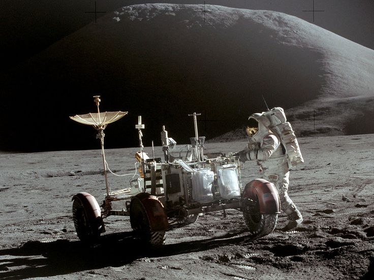 Apollo 15 Lunar Rover and Irwin - Lunar Roving Vehicle – Wikipedia