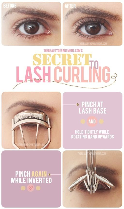 How to correctly curl your eyelashes