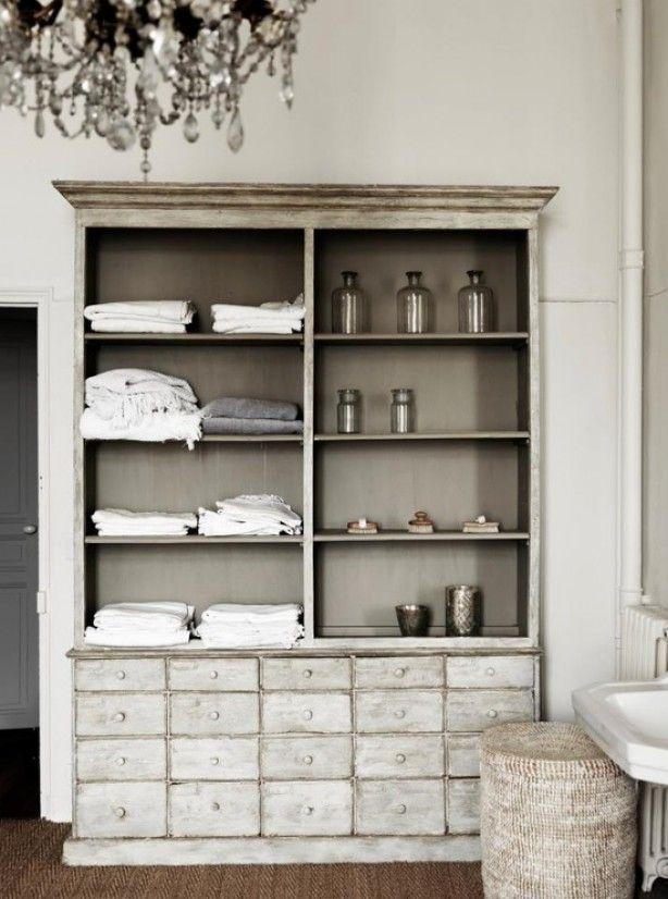 Brocante Keuken Handgrepen : Bathroom Storage