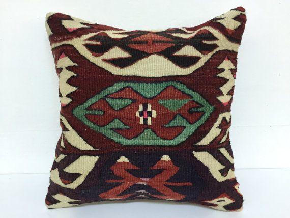 outdoor pillowburlap pillowsfall pillowTurkish by laviaart on Etsy