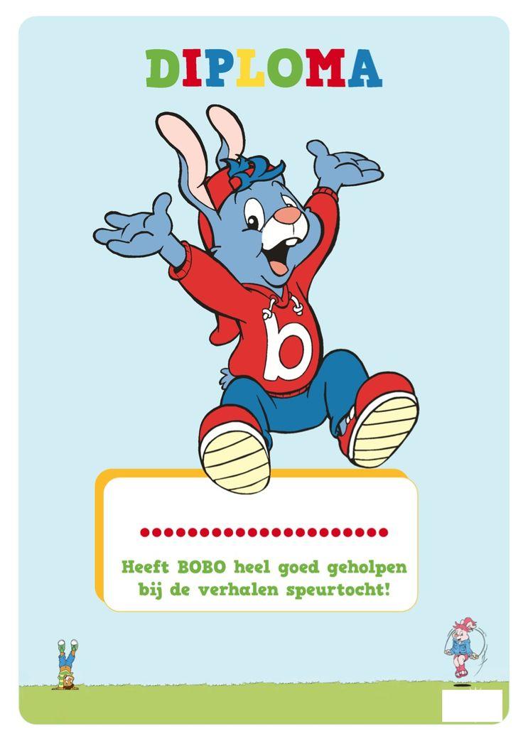 Bobo Verhalen speurtocht - met de kinderen loop je een speurtocht. Ontdek welke woordjes er nog missen! Zie de Activitheek van www.doenkids.nl