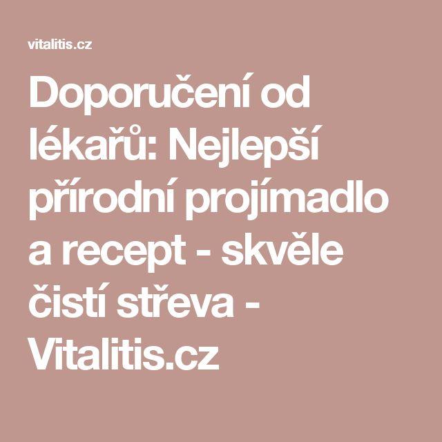 Doporučení od lékařů: Nejlepší přírodní projímadlo a recept - skvěle čistí střeva - Vitalitis.cz