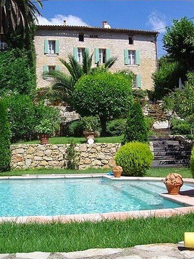 La Bastide des Anges, maison d'hôtes à Grasse, Côte d'Azur (Alpes Maritimes, France)
