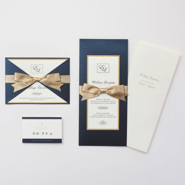 結婚式 招待状 Empire|LOUNGE WEDDINGの結婚式 招待状