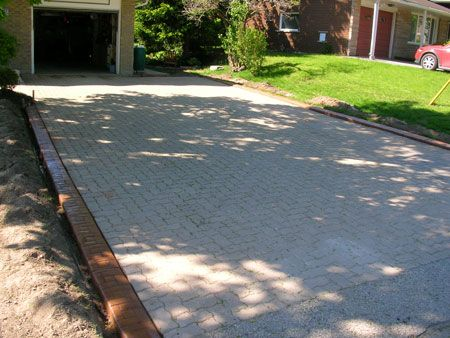 Driveway Liner Landscaping Driveway Edging Railroad