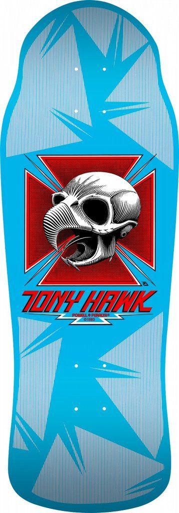 Powell Peralta Bones Brigade Tony Hawk 9th Series Reissue Skateboard Deck *Pre Order