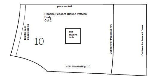 Doll Dressmaking Series: Peasant Dress Pattern — Phoebe&Egg