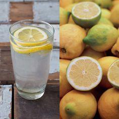 Detox // Warm citroenwater drinken »