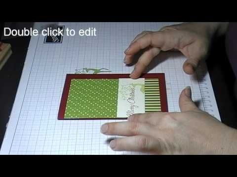 Ways to decorate the inside of your Hand Made Greeting Cards - YouTube