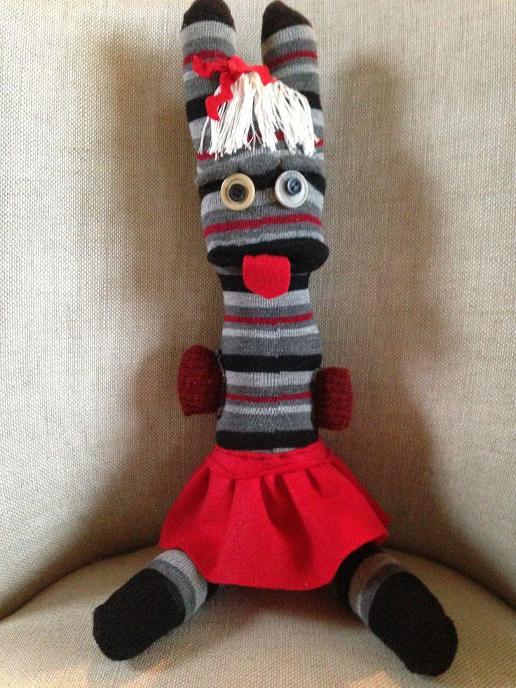 Pretty Sock Monster Pretty socks, Sock monster, Crafty