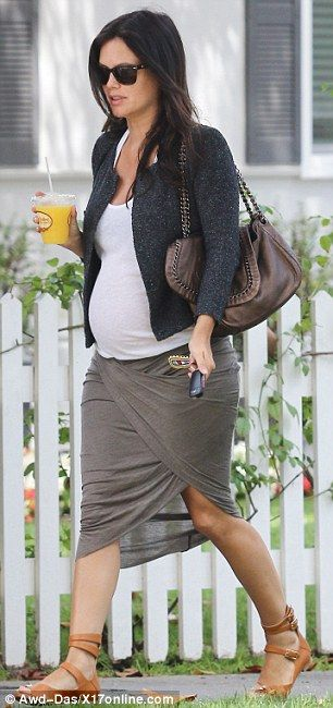 No hiding it: The 32-year-old Heart Of Dixie star revealed she was pregnant on May 21