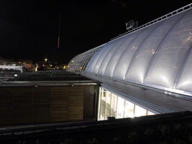 Montpellier Saint Roch ETFE roof - AREP / MaP3 - entreprises Gagne & Vector Foiltec
