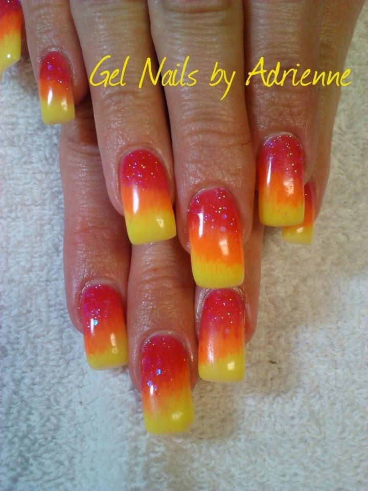 27 best Gel Nails by Adrienne images on Pinterest   Gel nail, Gel ...
