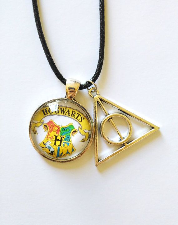 Hogwarts Deathly Hallows Necklace  Free by FeathersandStars