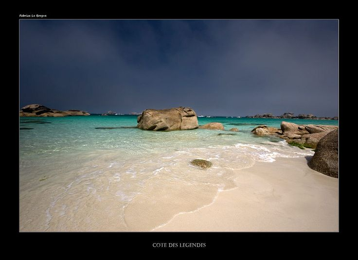 Des eaux paradisaiques sur cette côte nord finistèrienne | Flickr - Photo Sharing!