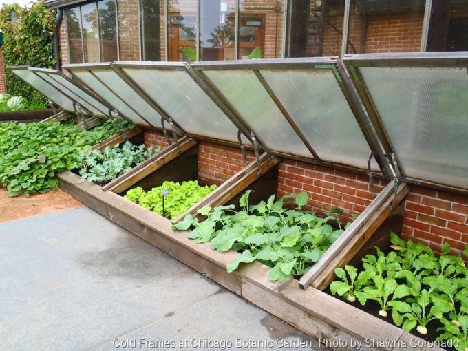 Vegetable Garden Frames Cold Frames Cold Frame Plans How To Build