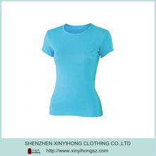 Power Blue Short Sleeve Wholesale Ladies Bamboo T-Shirts   Best Buy follow this link http://shopingayo.space