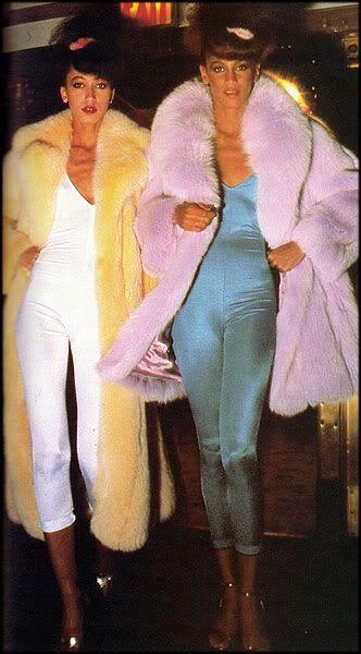 70s colour fur // Josie Stardust
