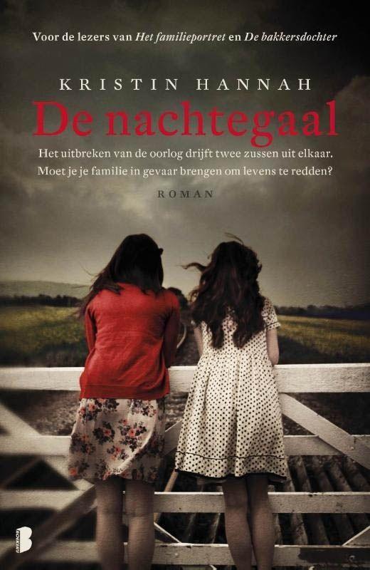 40/53 Kristin Hannah - De nachtegaal - Even dacht ik weer in 'De lege stad' van van der Vlugt terechtgekomen te zijn. De tweede helft is aanzienlijk beter. Dit boek is beter en indringender dan dat van van der Vlugt.