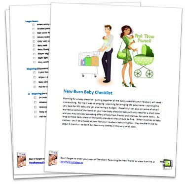 Best Parenting Checklists Images On   Baby Check