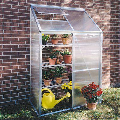 Juliana Greenhouses Mini 2 Lean-To Greenhouse