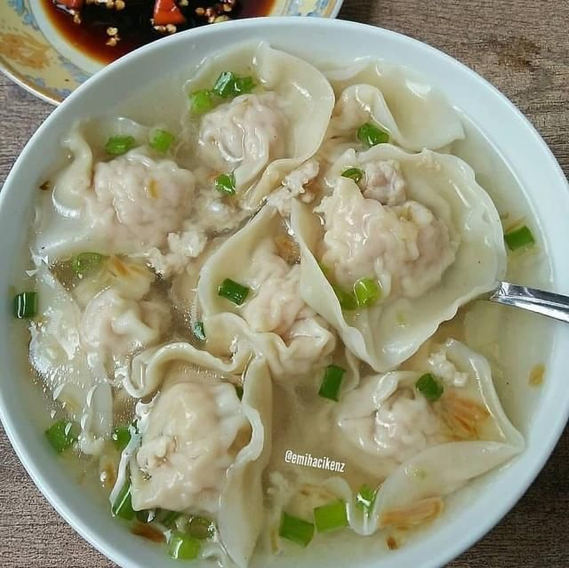Sup Pangsit Ayam By Emihacikenz Bahan 300 Gram Daging Ayam Giling Aku Pilih Bagian Paha 3 Bawang Putih Haluskan 1 Sdm Put Resep Masakan Resep Resep Sup