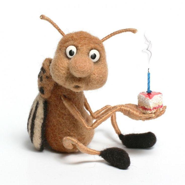насекомые сухое валяние - Поиск в Google