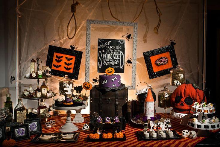 Festa Infantil | Halloween {Ficha Técnica: Conceito e Decoração: Festa com Gosto | Fotografia: Giselle Sauer | Bolo e doces: Isa Herzog}