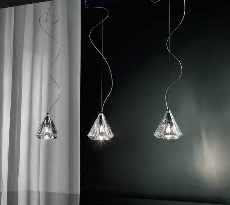 Karat is a collection of lamps in chrome with either transparent or sandblasted inner  crystal glass finish. #Karat by #Morosini