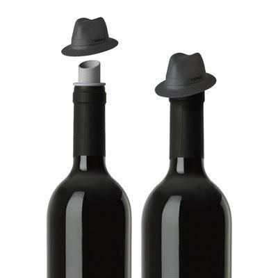 Do you love #wine and #filmnoir? #GiftIdeas #Autumn #Canada  http://giftideascanada.com/hat-wine-pourer-bottle-cap/