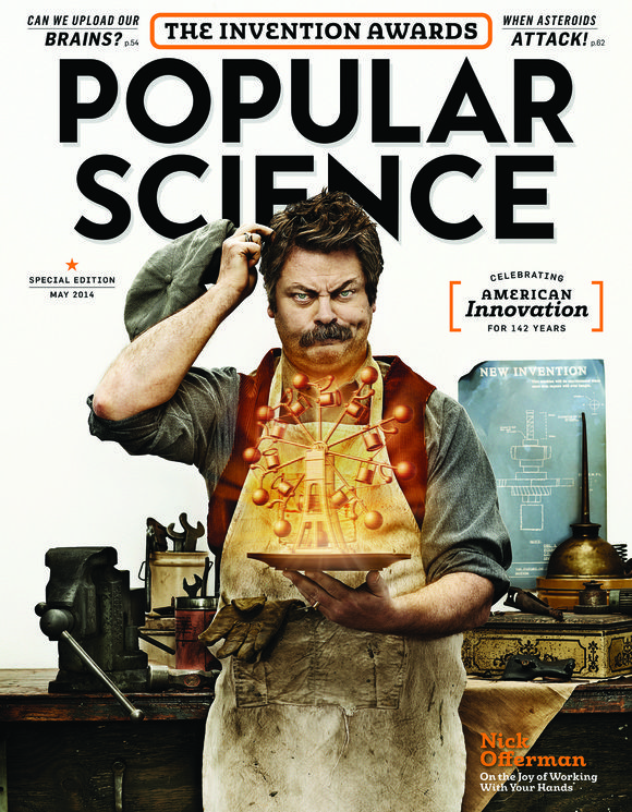 Cover of the Day: Popular Science