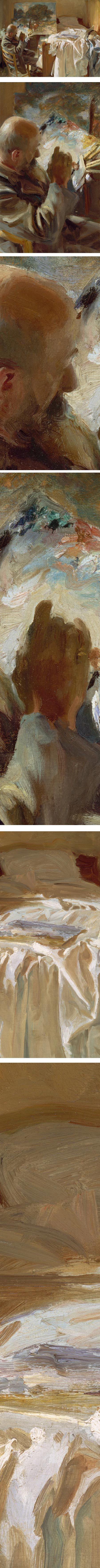 An Artist in His Studio, John Singer Sargent