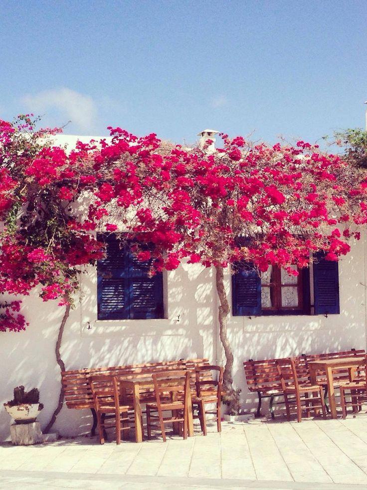 Guide de voyage à Paros - Grèce Cyclades Paros village de Lefkes