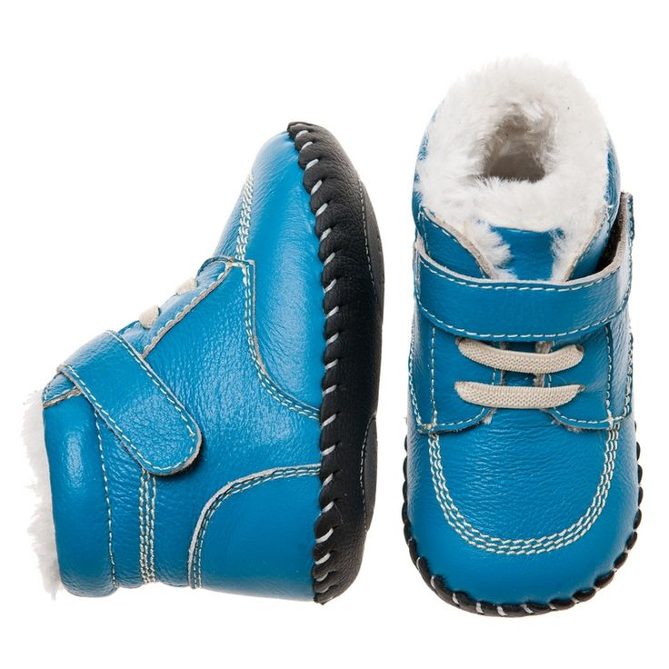 Little Blue Lamb | Bluey | Soft sole baby boots Super snug leather baby boots in a gorgeous blue.