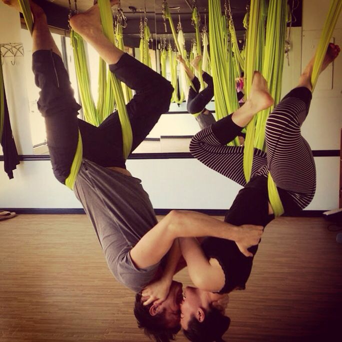Anti Gravity Yoga Love