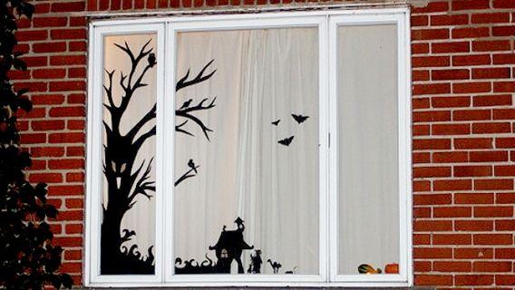 104 best Projet vampires images on Pinterest Happy halloween - peinture sur pvc fenetre
