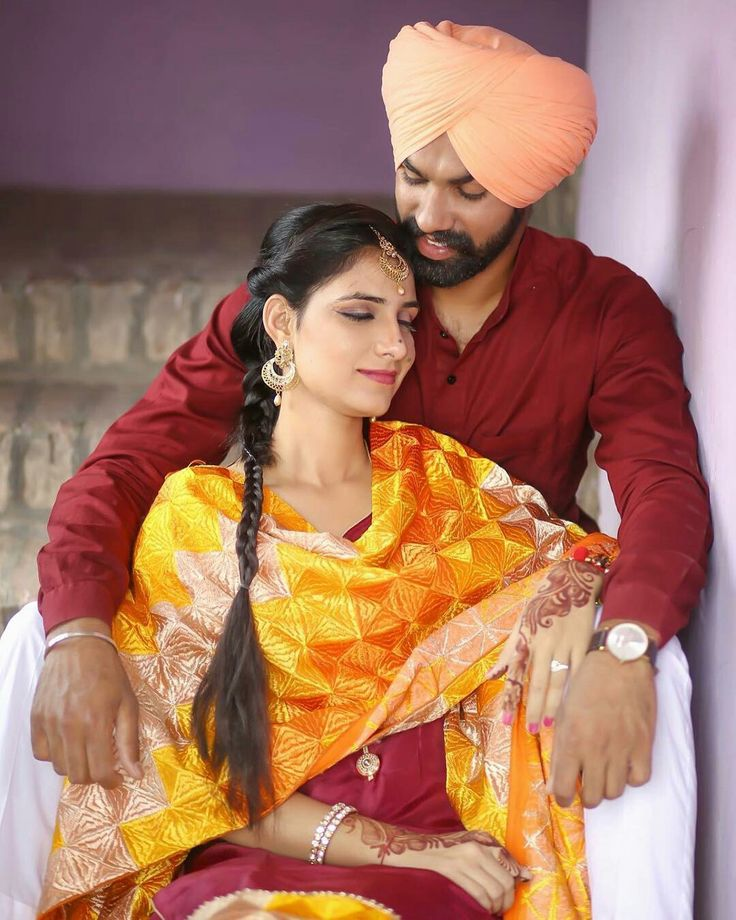 Pin by S on desktop Couples photoshoot, Punjabi couple