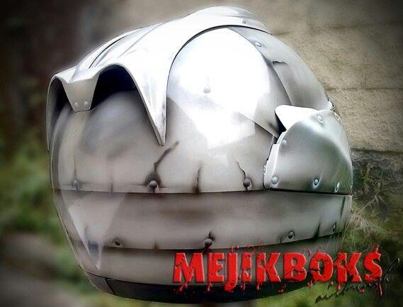 Tin helmet 6