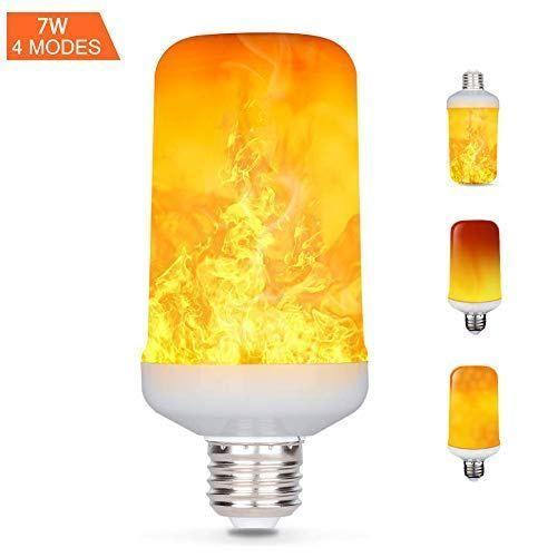 Feu De FlammeE27 4 Ampoule 7wSimulée ModesEffet Led hQxdCtsr