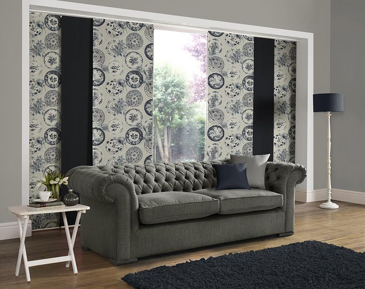 Panel Blind Is The Most Innovative Shading Solution For Larger Windows And  Patio Doors. This