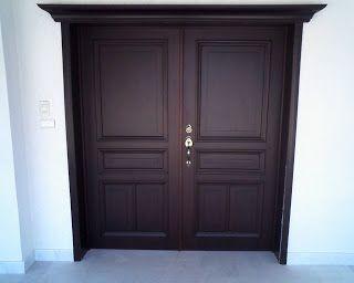 33 best images about puertas on pinterest - Puertas principales de madera ...