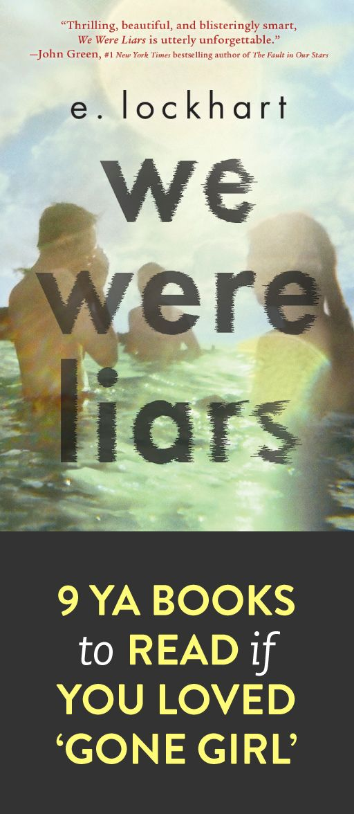 YA books to read if you loved 'Gone Girl' - We Were Liars is one my favorite books I've read so far this year (and that a list that is 87 books long as of 10/14!!)