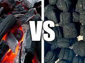 Grilling Smackdown: Lump Charcoal vs. Briquettes | Serious Eats