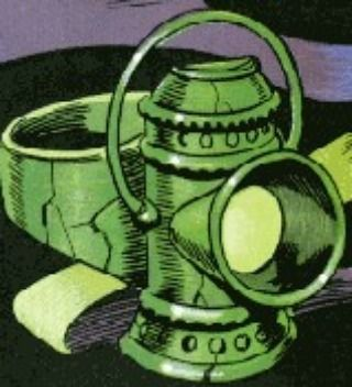 Power Item of the Day - The ring of the original Green Lantern Alan Scott powered by will and ineffective against wood this is a true original.
